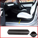 Carbon Fiber Door Sill For Tesla Model 3 Car