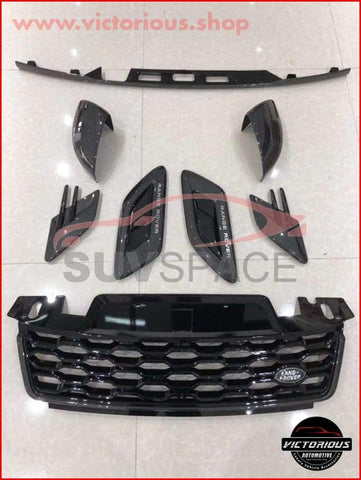 Carbon Fiber Grille And Vents Range Rover Sport Full Set 2018 Full Package Car