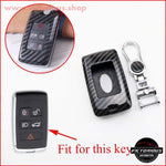 Carbon Fiber Key Shell Fob Cover- Range Rover 2018-2020/ Discovery 5 Car