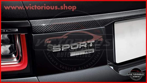 Carbon Fiber Rear Tailgate Lip For Range Rover Sport 2014-2020 Genuine Car