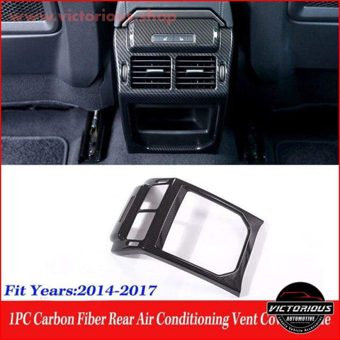 Carbon Fibre Rear Air Conditioning Vent/ For Land Rover Range Evoque 2012-2017 Car