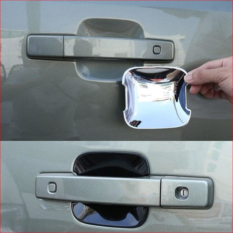 Chrome Door Bowl Cover Decoration - For Defender 110 2020 Car