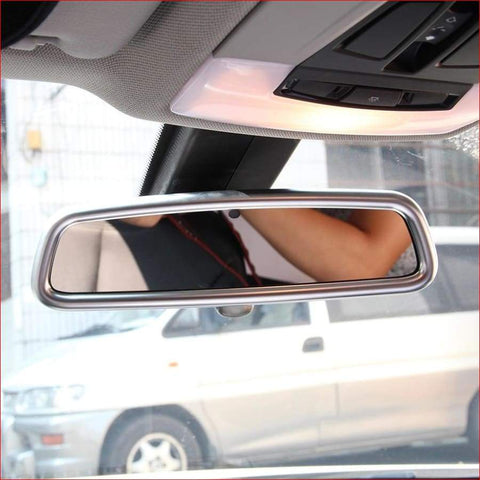 Chrome Mirror Surround Car