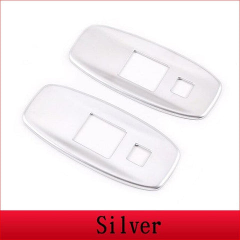 Chrome Seat Back Usb Port Panel Frame Trim For Land Rover Defender 110 2020 Abs Car