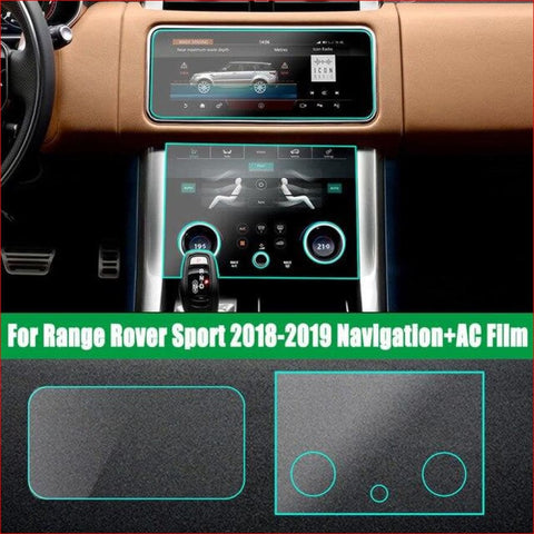 Control Tpu Protection - For Rr Vogue Sport Velar 2017/18/19/20 Rrs 2018 Nav + Ac Screen Car