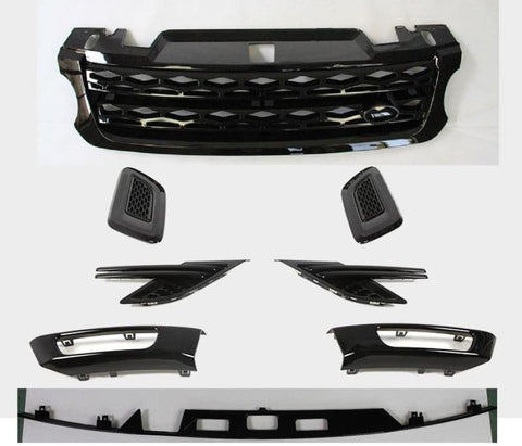 Full High Gloss Black Set - Range Rover Sport 2014 2015 2016 2017 8Pcs Car