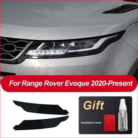 Headlamp Tint Pre Cut For Range Rover Evoque 2020 + Car