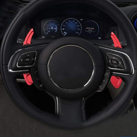 Jaguar Xf Xe Xj F-Pace X761 Range Rover Evoque X-Type Steering Wheel Paddle Shifters Car