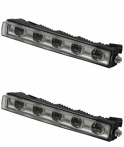 Led Lights Lamps Drl Fit For Mercedes Benz G Class G500 G350 G63 G65 1990-2017 White 1 Pair Car