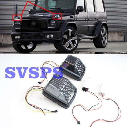 Led Tuning Lights Lamps For Mercedes G Class G500 G55 G65 G63 1990-2018 Car