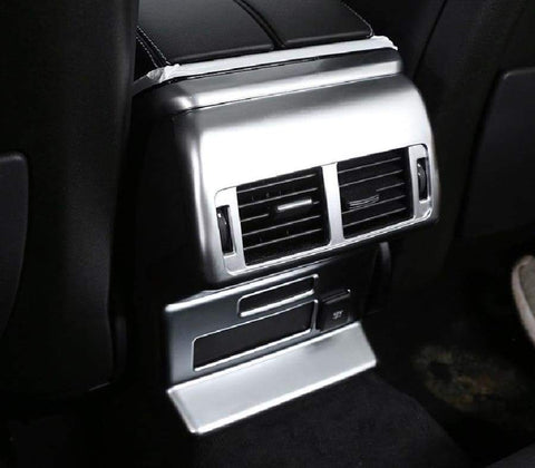 Matte Silver Rear Air Conditioning Trim For Range Rover Velar 2017-2020 Car