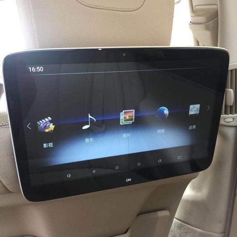 Mercedes-Benz Android Rear Entertainment Screens Car