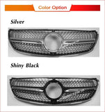 Mercedes V Class Grill W447 Diamond Grille For V260 V250 Racing Diamond Grille Car