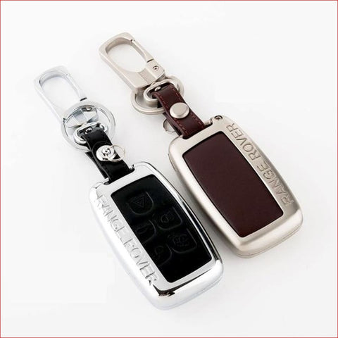 Range Rover/ Land Rover Leather Car Key Cover Case Car