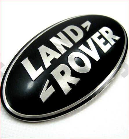 Range Rover Sport L494 Grille Badge Black And Silver