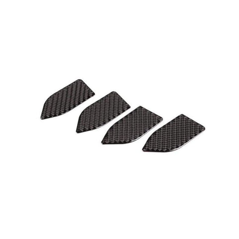 Real Carbonfiber Car Inner Door Handle Cover Catch Bowl Accessories Sticker For Range Rover