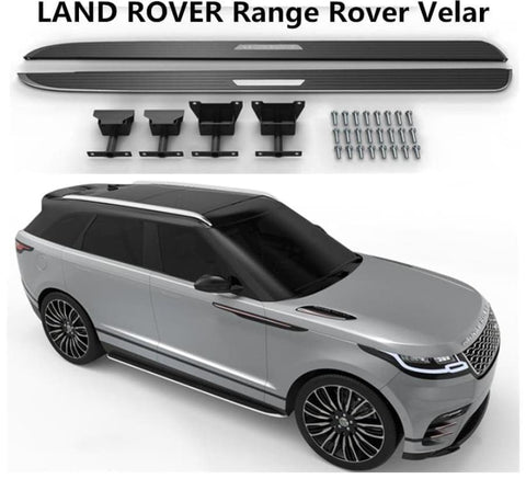 Land Rover Range Rover Velar 2017 2018 2019 Running Boards Side Steps Car