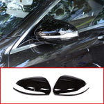 Gloss Black For Mercedes Benz C W205 E W213 Glc-Class X253 S Class W222 Abs Plastic Car Rearview