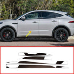 Stainless Steel Chrome Side Door Trim For Jaguar E-Pace E Pace 2018 2019 Car