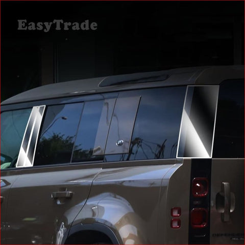 Tpu Side Window Center Pillar B C Protective Headlight Film For Land Rover Defender 110 2020 Car