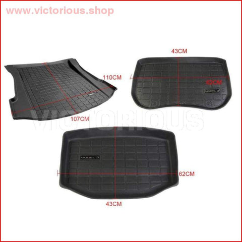 Trunk And Cargo Durable Mat For Tesla Model 3 Modification Pad Car Accessories Car