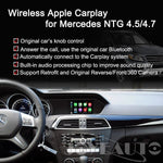 Wireless Apple Carplay For Mercedes Retrofit C/e/b/g Class 2011-2013 Ntg4.5 4.7 Car