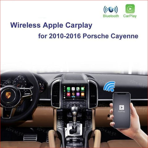 Wireless Apple Carplay For Porsche Cayenne 2010-2016 Car