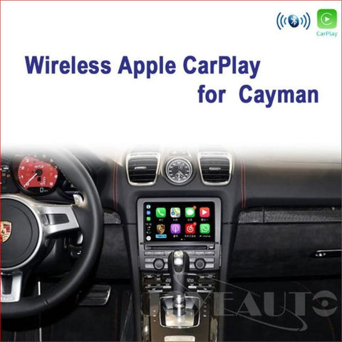 Wireless Apple Carplay For Porsche Cayman 2010-2016 Car