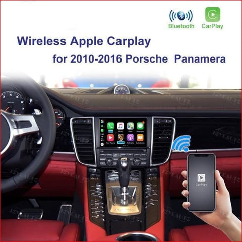 Wireless Apple Carplay For Porsche Panamera 2010-2016 Car