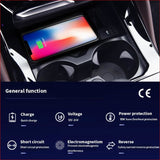 Wireless Car Charger Upgrade Jaguar F-Pace Xe Xf 2016 2017 2018 2019 Car