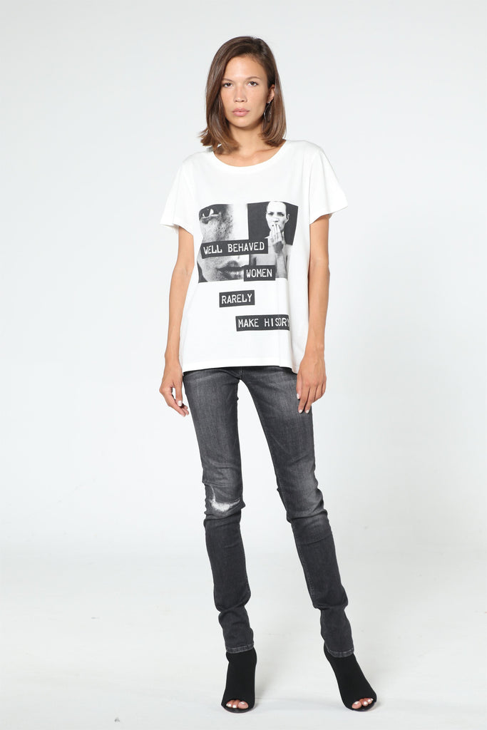 KATE MOSS Tee - Off White