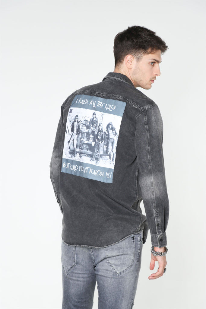 RAMONES Denim Shirt