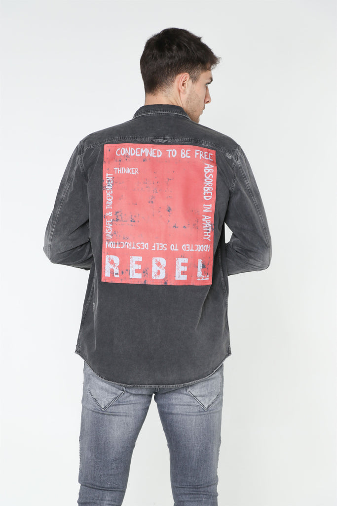 REBEL Denim Shirt