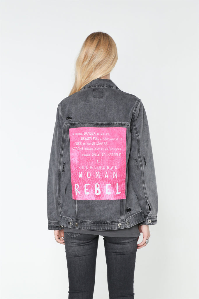 REBEL DENIM JACKET