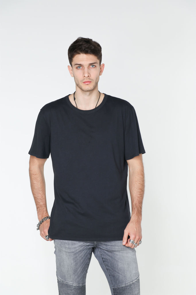 BLACK Washed Out T-SHIRT