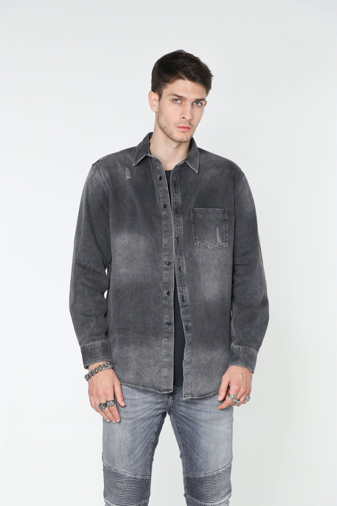 Black Sabbath Denim Shirt