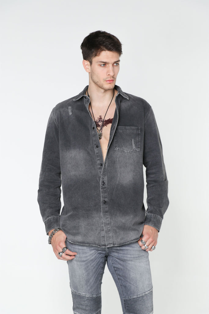 PLAIN Denim Shirt