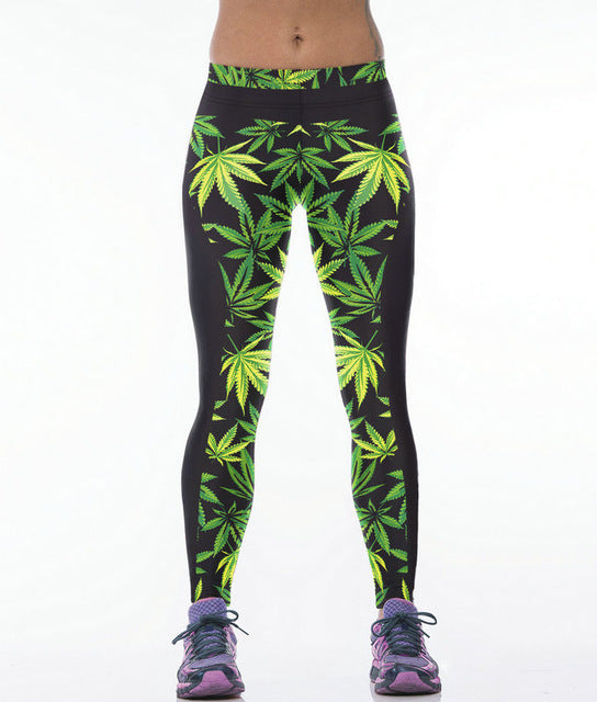 420 yoga leggings