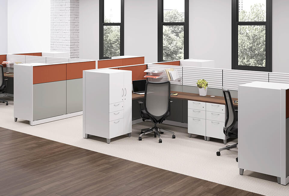 HON Abound Cubicles & Workstations