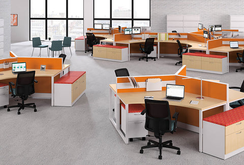HON Accelerate Contain Voi Cubicles & Workstations