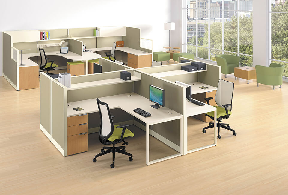 HON Accelerate Cubicles & Workstations