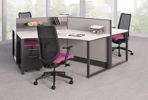 HON Accelerate Nucleus Contain Cubicles & Workstations