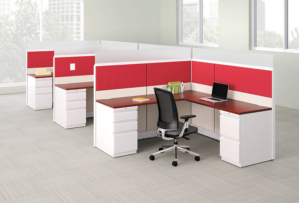 HON Accelerate Semi Private Cubicles & Workstations