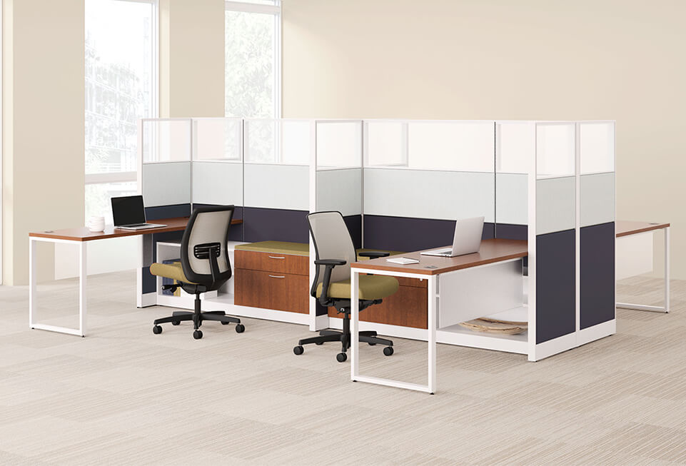 HON Accelerate Teaming Cubicles & Workstations