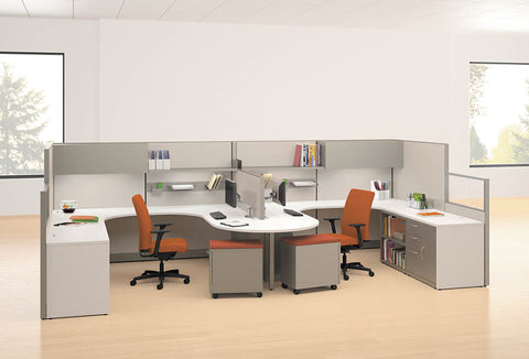 HON Accelerate Teaming Ignition Cubicles & Workstations