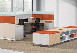 HON Abound Contain Cubicles & Workstations