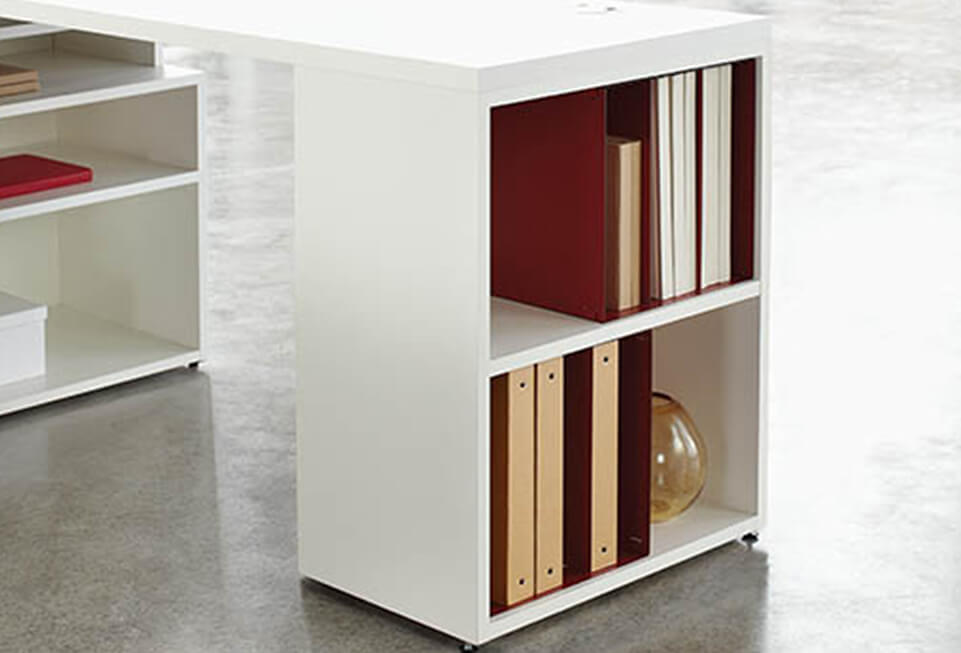 HON End Cap Bookcase Filing & Storage