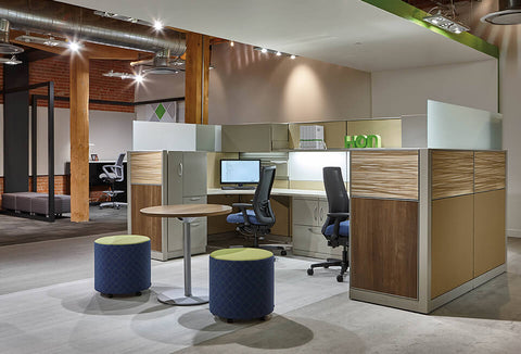 HON Abound Ignition Flock Cubicles & Workstations