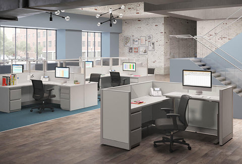 HON Accelerate Convergence Cubicles & Workstations