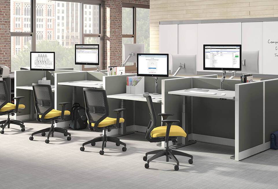 HON Accelerate Solve Coordinate Cubicles & Workstations